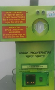 Zest Mask  Incinerator